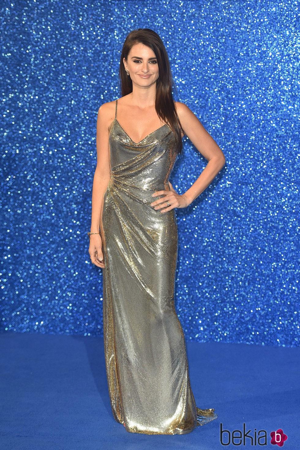 Penélope Cruz en el estreno de 'Zoolander 2' en Londres