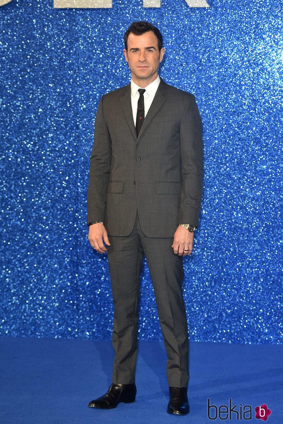 Justin Theroux en el estreno de 'Zoolander 2' en Londres
