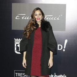 Lorena Van Heerde en el desfile de Emidio Tucci en MFShow Men otoño/invierno 2016/2017