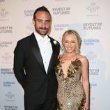 Kylie Minogue y Josh Sasse en la Gala de los Prince's Trust Awards 2016