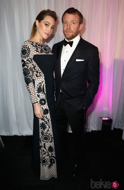 Guy Ritchie y Jacqui Ainsley en la Gala de los Prince's Trust Awards 2016