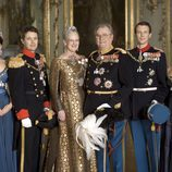 Foto oficial de la Familia Real Danesa