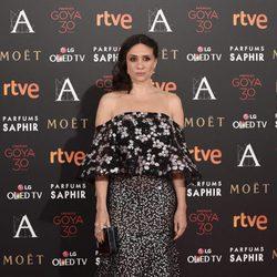 María Botto en la alfombra roja de los Premios Goya 2016