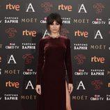 Ursula Corberó en la alfombra roja de los Premios Goya 2016