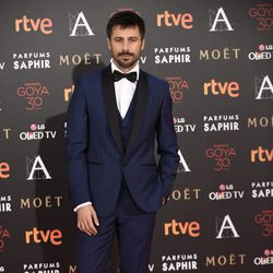 Hugo Silva en la alfombra roja de los Premios Goya 2016