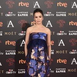 Verónica Sánchez en la alfombra roja de los Premios Goya 2016