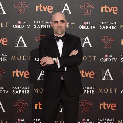 Luís Tosar en la alfombra roja de los Premios Goya 2016