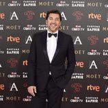 Javier Bardem en la alfombra roja de los Premios Goya 2016
