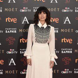 Inma Cuesta en la alfombra roja de los Premios Goya 2016