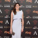 Marta Nieto en la alfombra roja de los Premios Goya 2016