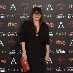 Isabel Coixet en la alfombra roja de los Premios Goya 2016