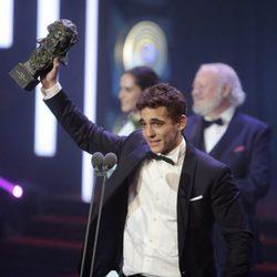 Miguel Herrán ganador del Goya a Mejor Actor Revelación 2016