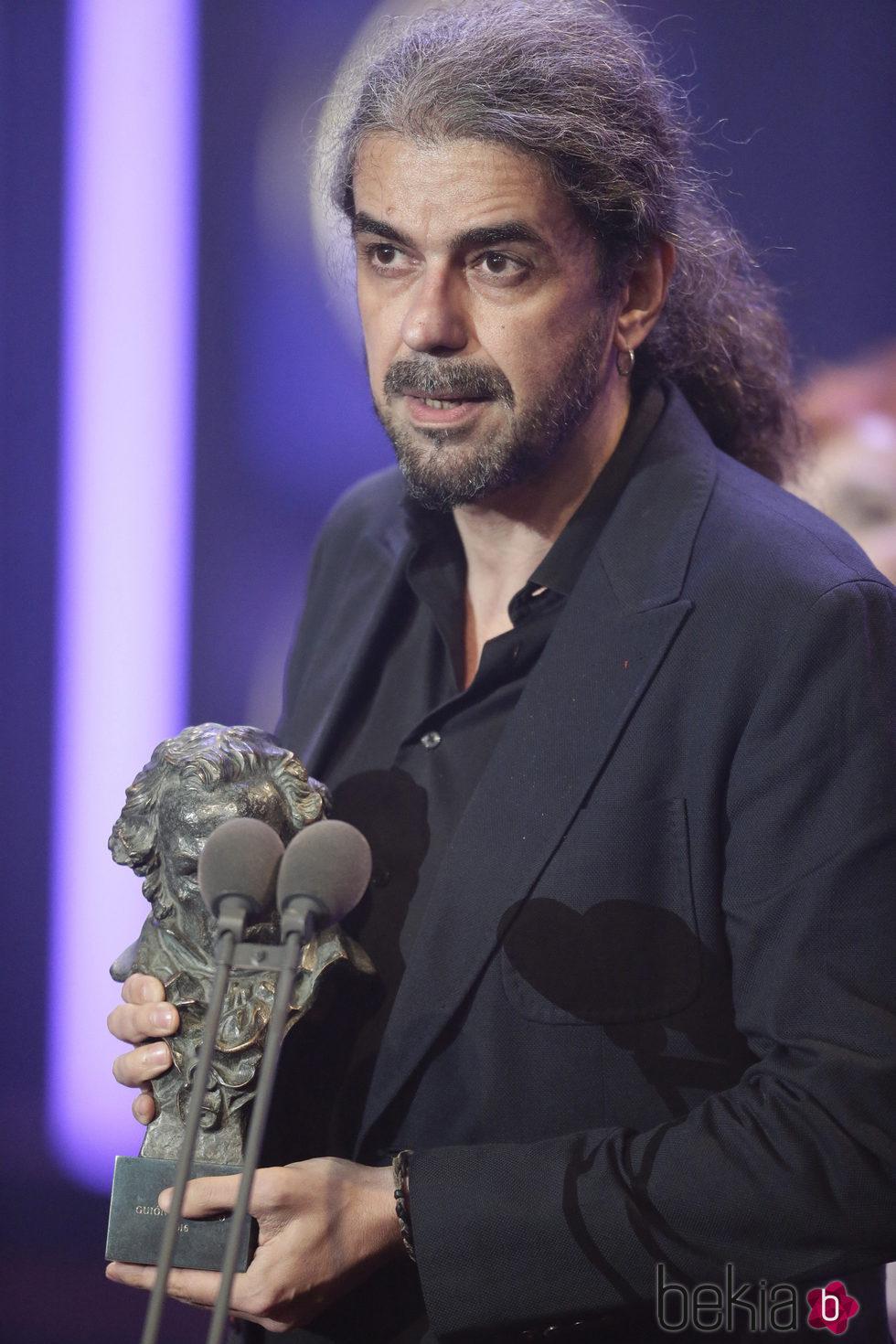 Fernando León de Aranoa ganador del Goya a Mejor Guión Adaptado 2016