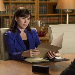 Julianna Margulies interpretando a Alicia Florrick en 'The Good Wife'