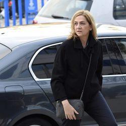 La Infanta Cristina llega a la segunda sesión del juicio por el Caso Nóos
