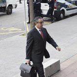 Diego Torres llega a la segunda sesión del juicio por el Caso Nóos