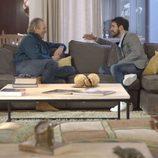 Mario Casas charla con Bertín Osborne en el programa 'En la tuya o en la mía'