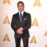 Sylvester Stallone en el almuerzo de los nominados a los Premios Oscar 2016