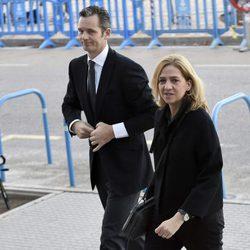 La Infanta Cristina e Iñaki Urdangarín llegan a la tercera sesión del juicio por el Caso Nóos