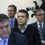 Pepote Ballester, Iñaki Urdangarín y Diego Torres en el juicio por el Caso Nóos