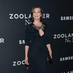 Milla Jovovich en el estreno de 'Zoolander 2' en Nueva York