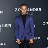 Lewis Hamilton en el estreno de 'Zoolander 2' en Nueva York