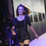 Penélope Cruz desfilando en el estreno de 'Zoolander 2' en Nueva York