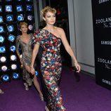 Gigi Hadid desfilando en el estreno de 'Zoolander 2' en Nueva York