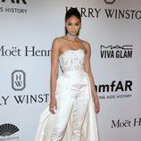 Chanel Iman en la Gala amfAR 2016 de Nueva York