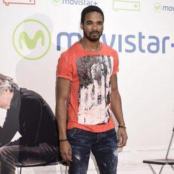 Will Shephard en la presentación de la serie '¿Qué fue de Jorge Sanz?' en Madrid