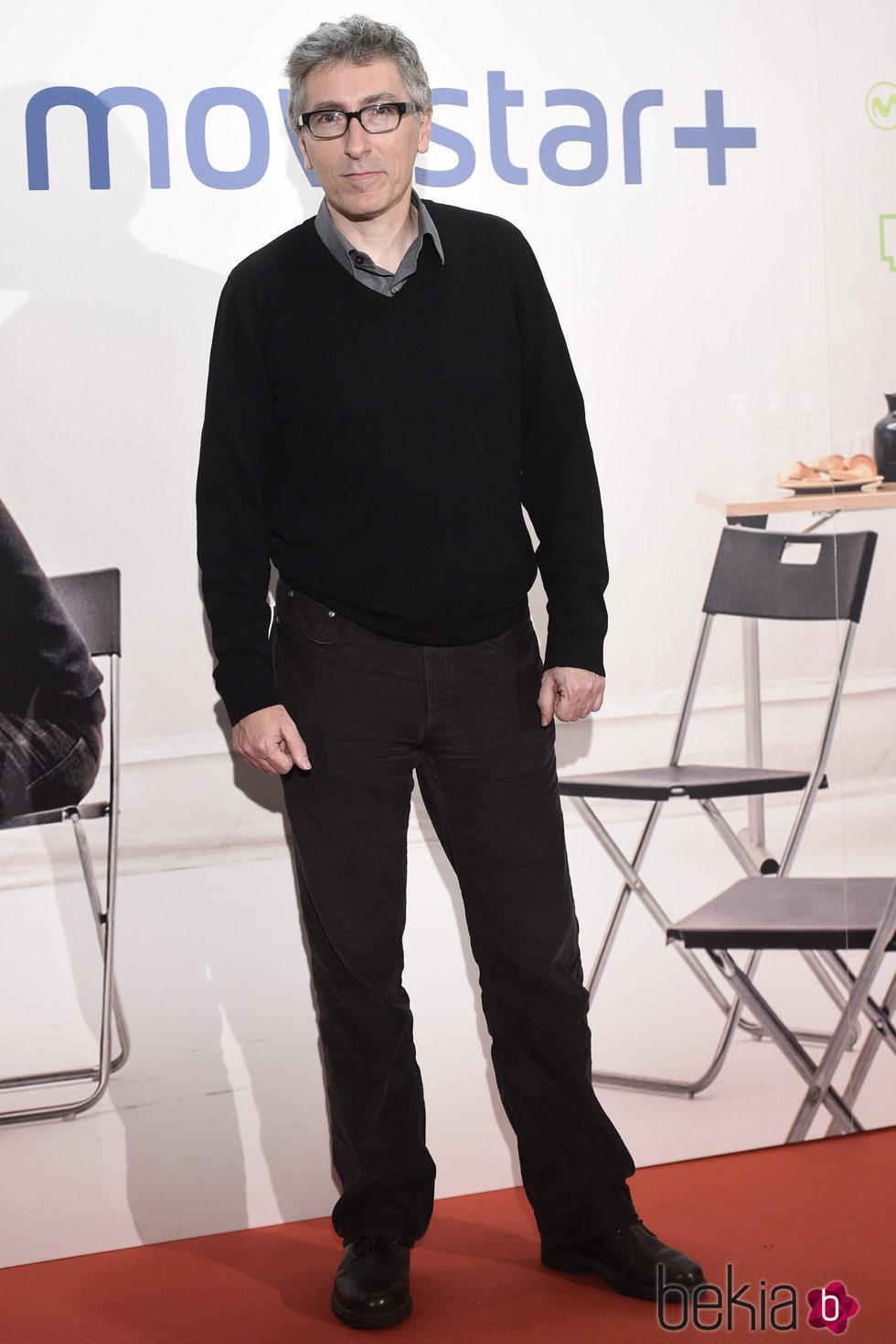 David Trueba en la presentación de la serie '¿Qué fue de Jorge Sanz?' en Madrid