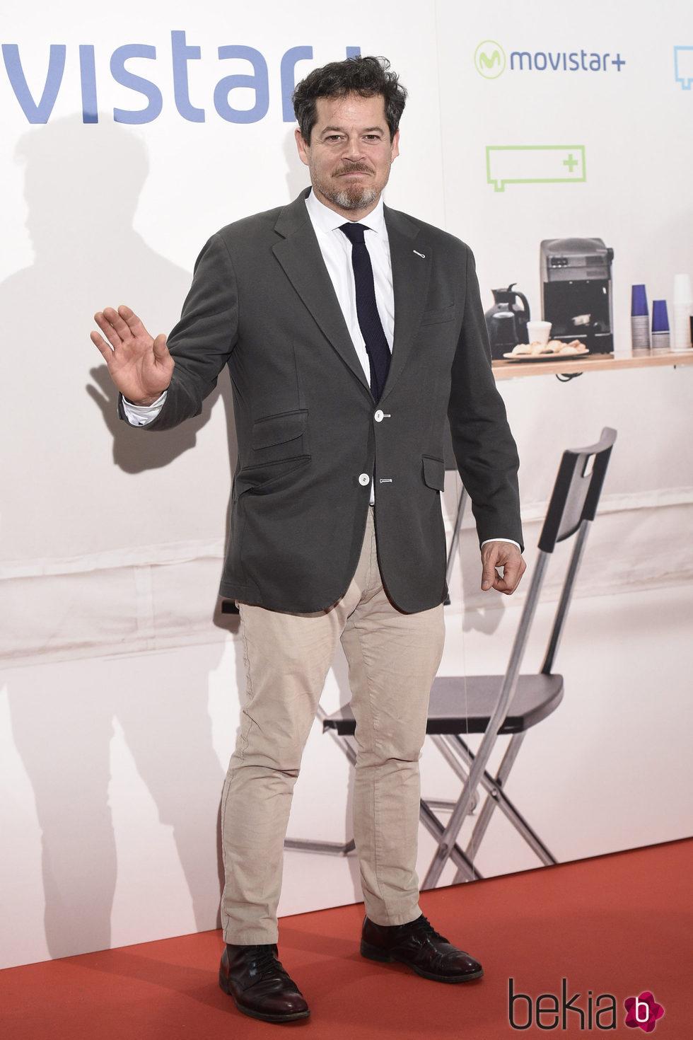 Jorge Sanz en la presentación de la serie '¿Qué fue de Jorge Sanz?' en Madrid