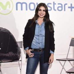 Elena Furiase en la presentación de la serie '¿Qué fue de Jorge Sanz?' en Madrid