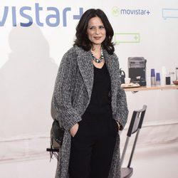 Aitana Sánchez Gijon en la presentación de la serie '¿Qué fue de Jorge Sanz?' en Madrid