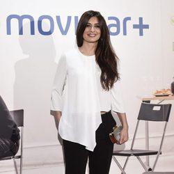 Aurora Carbonell en la presentación de la serie '¿Qué fue de Jorge Sanz?' en Madrid