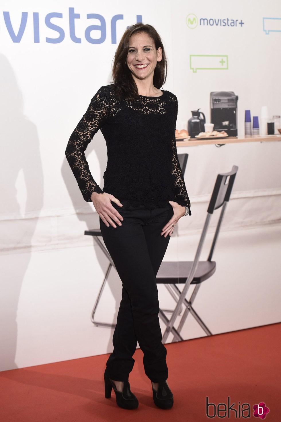 Malena Alterio en la presentación de la serie '¿Qué fue de Jorge Sanz?' en Madrid