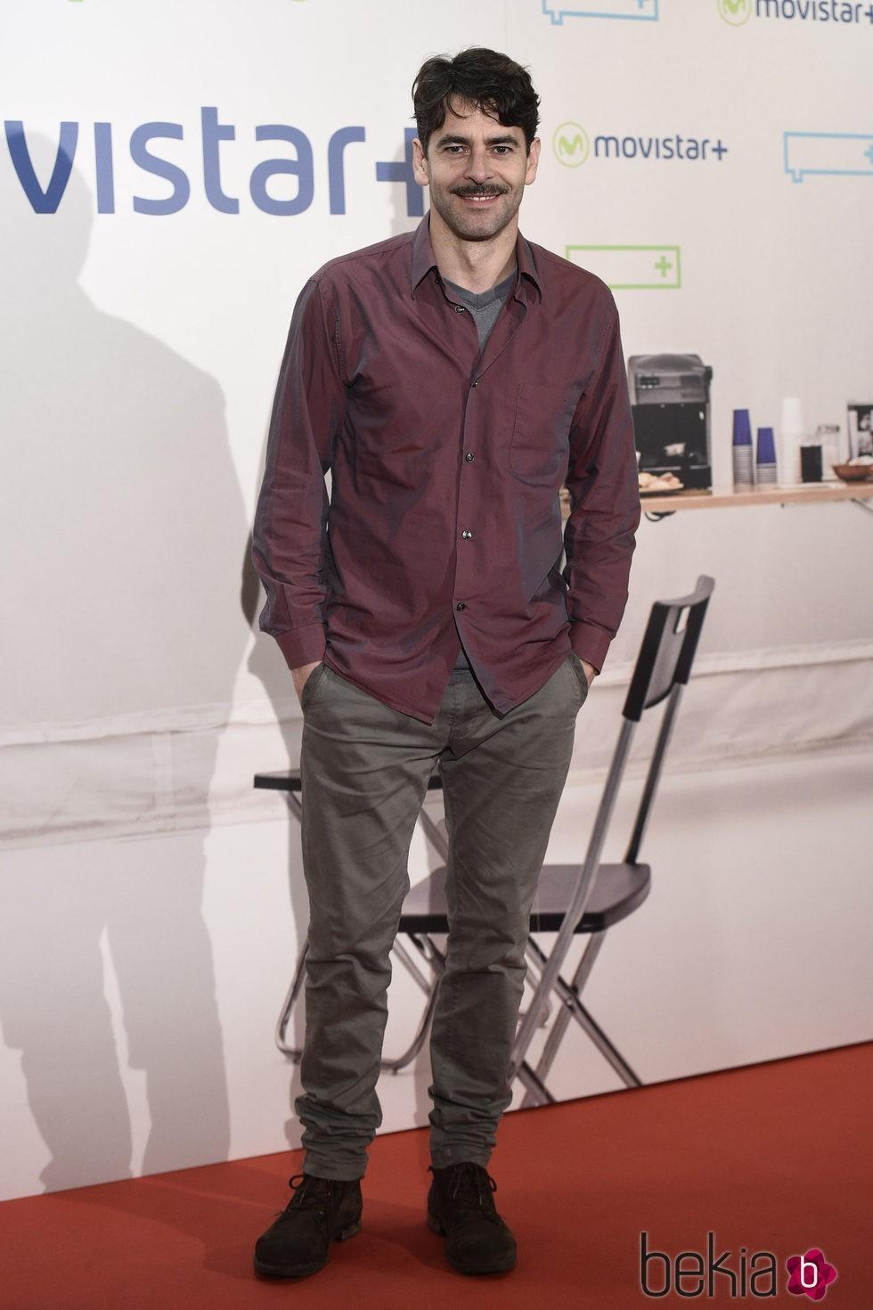 Eduardo Noriega en la presentación de la serie '¿Qué fue de Jorge Sanz?' en Madrid