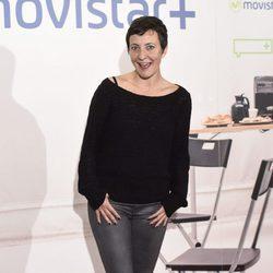 Eva Hache en la presentación de la serie '¿Qué fue de Jorge Sanz?' en Madrid