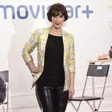 Ana Morgade en la presentación de la serie '¿Qué fue de Jorge Sanz?' en Madrid