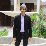 Manolo Caro en la presentación de la segunda temporada de la serie 'Allí abajo' en Sevilla