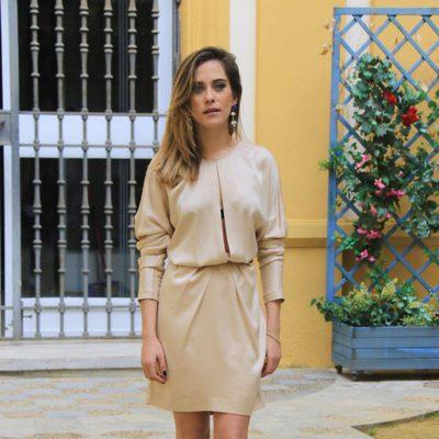 Maria León en la presentación de la segunda temporada de la serie 'Allí abajo' en Sevilla