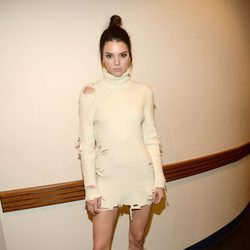 Kendall Jenner en el desfile de Kanye West 'Yeezy Season 3'