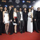 Cayetana Guillén Cuervo, Hugo Silva, Rodolfo Sancho, Aura Garrido, Nacho Fresneda, Víctor Clavijo y Mar Saura presentan 'El Ministerio del Tiempo'