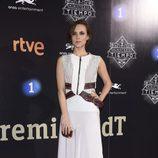 Aura Garrido en la presentación de la segunda temporada de 'El Ministerio del Tiempo'