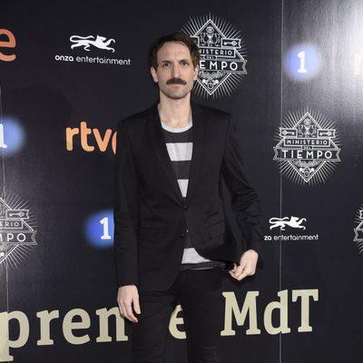 Julián Villagrán en la presentación de la segunda temporada de 'El Ministerio del Tiempo'