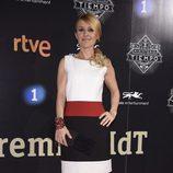 Cayetana Guillén Cuervo en la presentación de la segunda temporada de 'El Ministerio del Tiempo'
