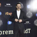 Nacho Fresneda en la presentación de la segunda temporada de 'El Ministerio del Tiempo'