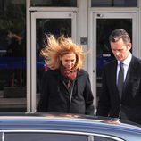 La Infanta Cristina e Iñaki Urdangarín a la salida de la quinta sesión del juicio por el Caso Nóos