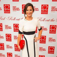 Pippa Middleton en una gala benéfica de la British Heart Foundation