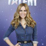 Edurne en la presentación de 'Got Talent'